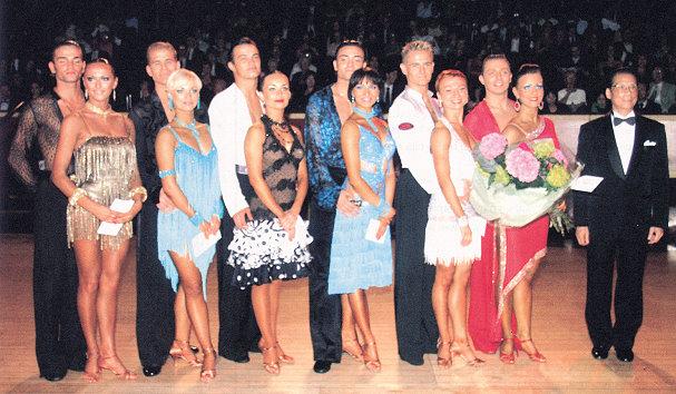 英国国际杯业余组拉丁舞