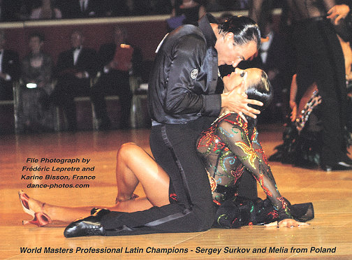 界职业拉丁美洲舞名人赛为主